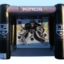 hockey inflatable for branding