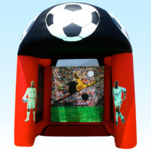 inflatable soccer world cup