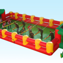 Inflatable foos ball