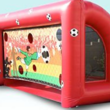 Soccer kick inflatable