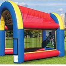 Inflatable speed cage for all sports