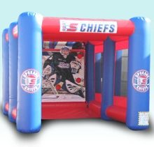 Hockey shot inflatable
