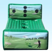 Interactive golf inflatable