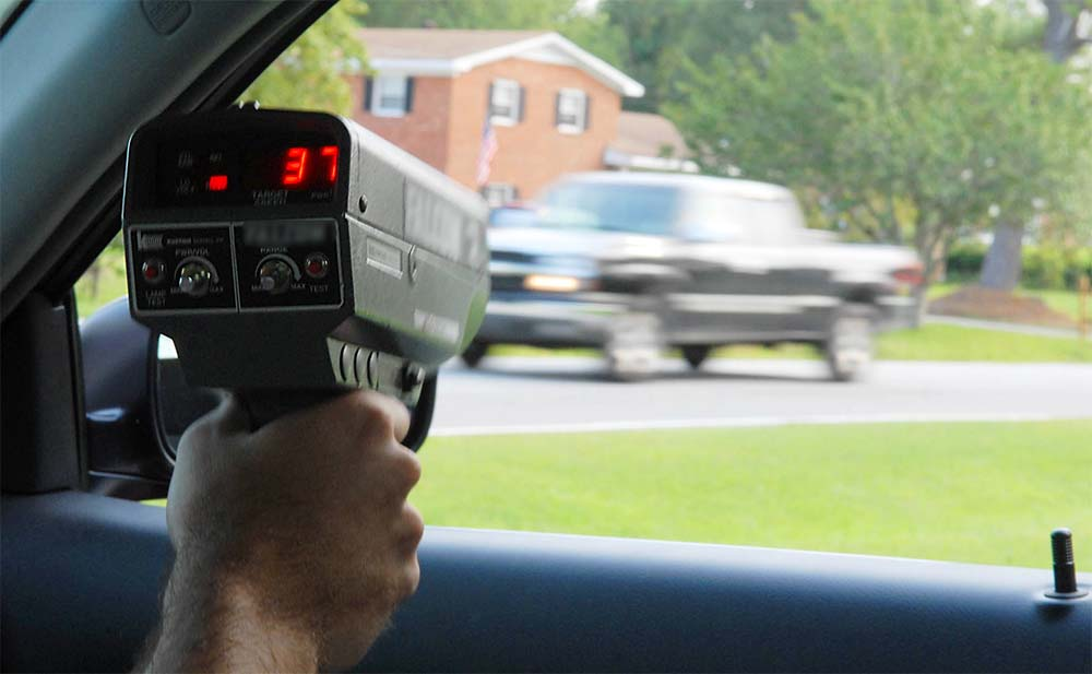 The Need For Speed All About Radar Detectors Radar Gun Sales