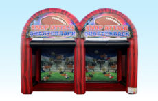 Inflatable Game Dual Quarterback Pass